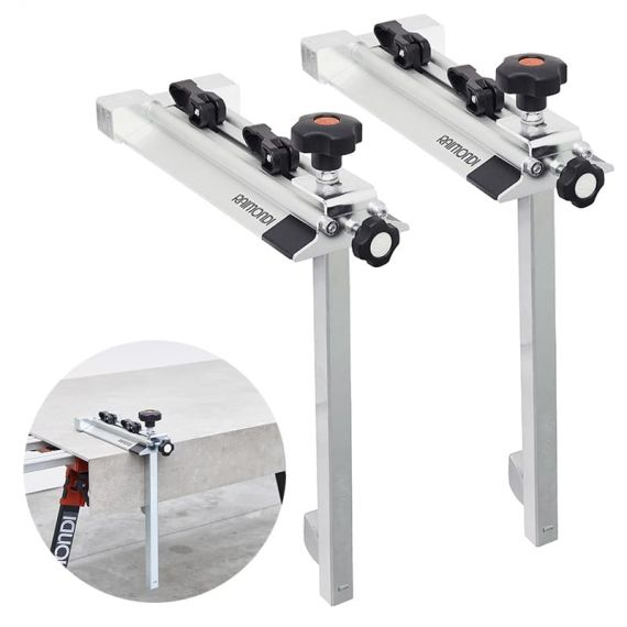 Raimondi TIP-TOP face-up miter-clamping-device for stairs and countertops of any length