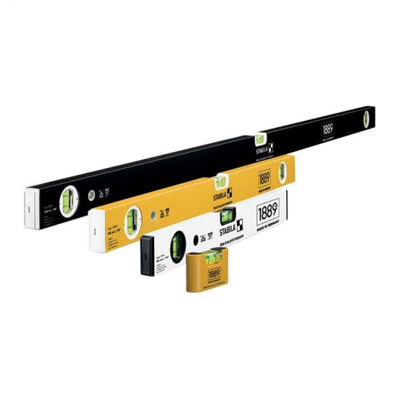 Stabila Limited Edition Spirit Level Sets - 1889 Edition