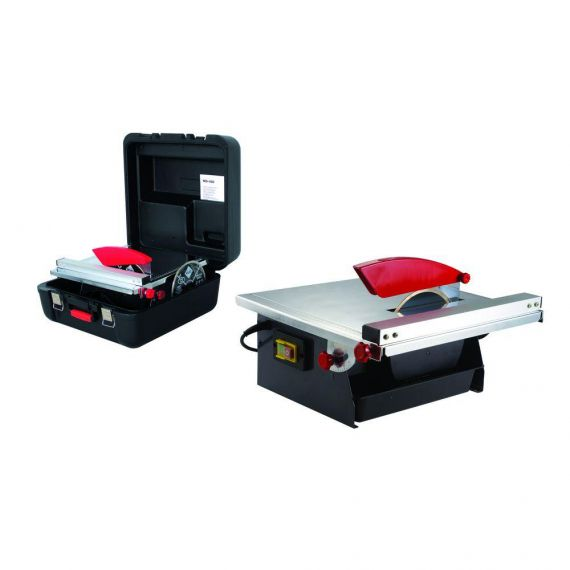 Rubi 120 volt BL-ND-180-BL With Case & Two Spare Blades