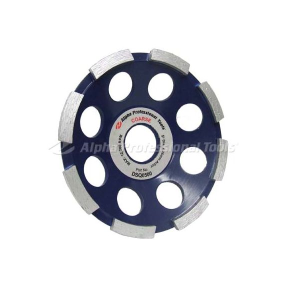 Alpha 5 inch Segmented Grinding Cup Wheel
