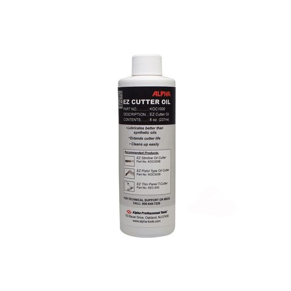 Alpha 8 ounce EZ Cutter Oil