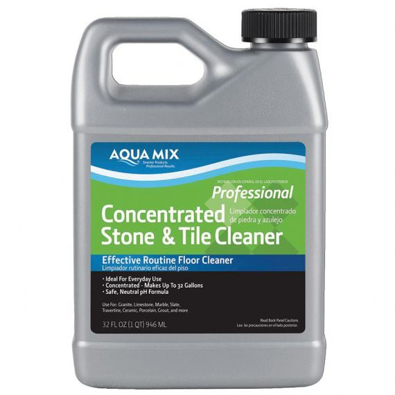 Aquamix 1 Quart Conc. Stone & Tile Cleaner