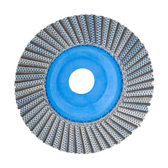 Montolit 4.5in Fleximont Grinding Wheel Fine 200 Grit