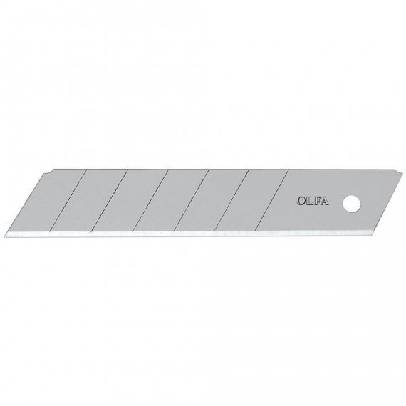 OLFA Super Heavy-duty Silver Snap-off Blades, 20 pack (25mm)