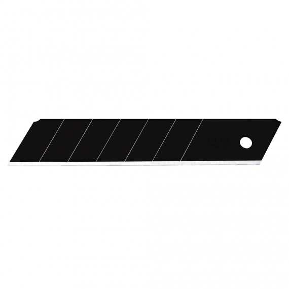 OLFA Super Heavy-duty Ultra-sharp Black Snap-off Blades, 5 pack (25mm)