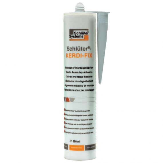 Schluter KERDI-FIX SEALING/BONDING  290ML GREY