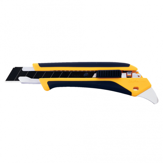 OLFA Fiberglass-Reinforced Utility Knife with Auto-lock Slide (18mm)
