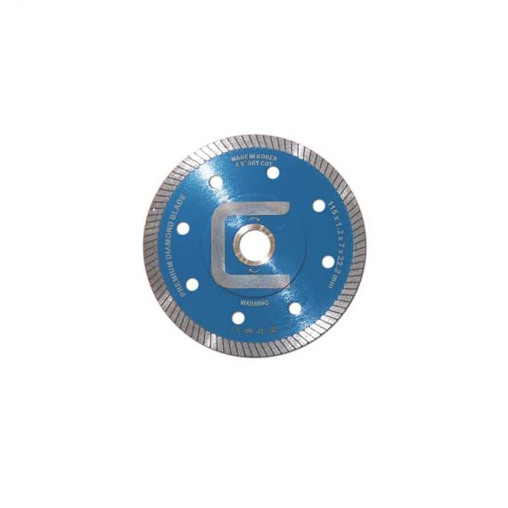 Centura 4.5in Mass Reinforced Diamond Blade Dry/Wet Cut