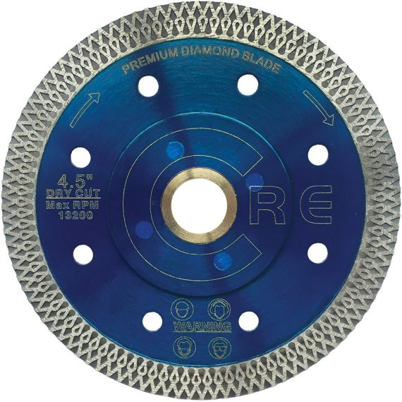 Piranha 4.5 inch Silent Core Mesh Turbo Blade - Blue