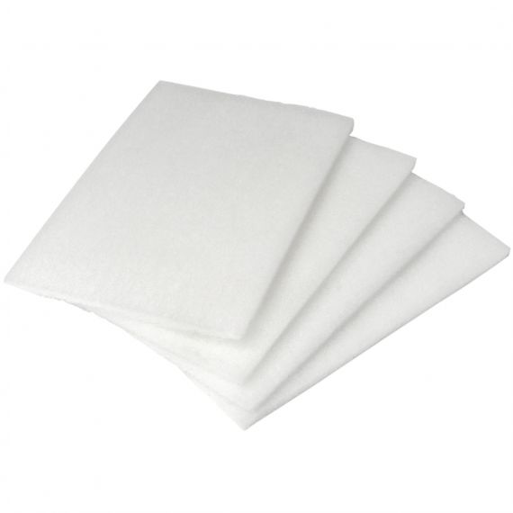 Richards White Scrubbing Pad (Fine)