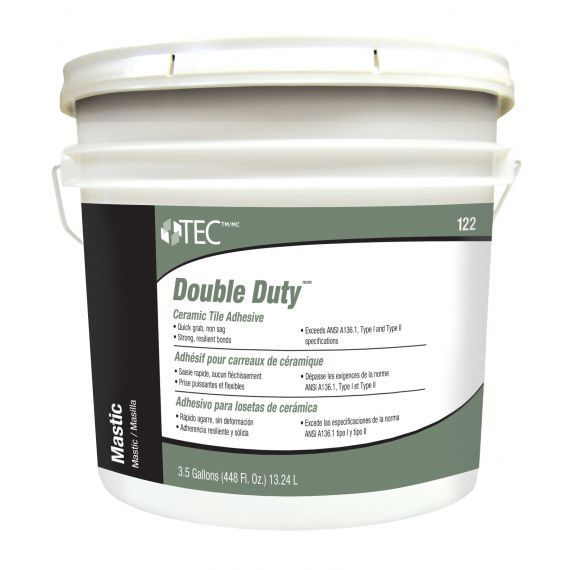 TEC® 3.5 gals. Double Duty™ Ceramic Tile Adhesive