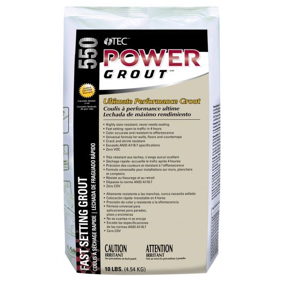 TEC® 10 lbs. Power Grout®, 902 Ivory