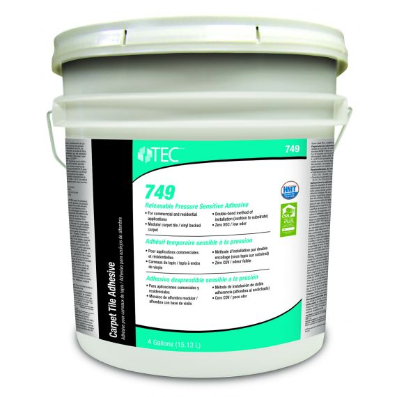 TEC® 749 Releasable Pressure Sensitive Adhesive 4 gals.