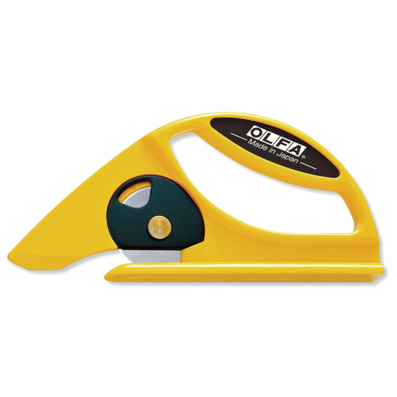 OLFA Rolled Materials Cutter with Rotary Blade (45 mm)