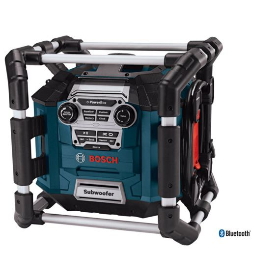 Bosch 120 volt Power Box Radio with Bluetooth