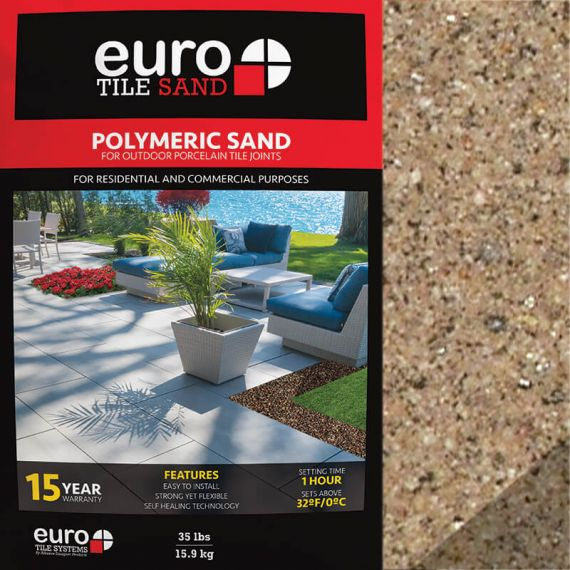 Euro Tile Systems 35lb Polymeric Sand Beige