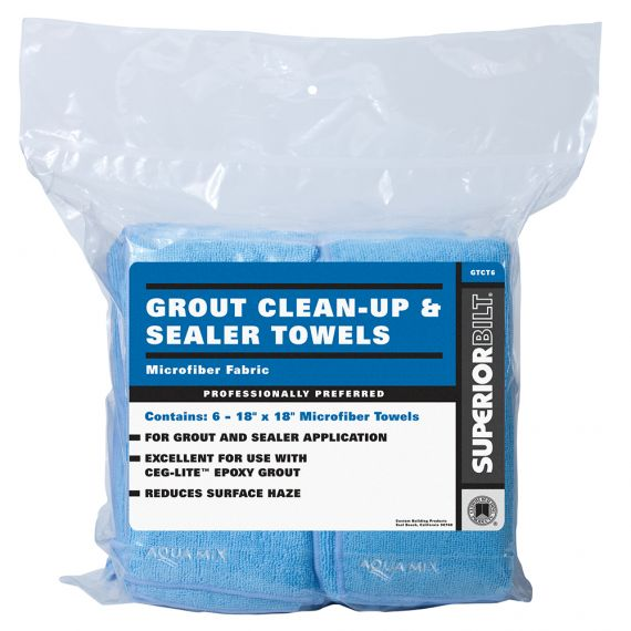 Aquamix 18X18 Microfiber Towel (6/pack)