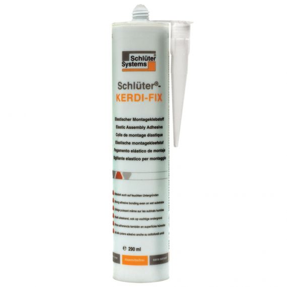 Schluter KERDI-FIX SEALING/BONDING 290ML BRT WHT