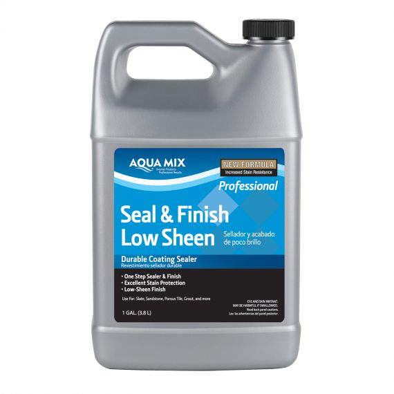 Aquamix 1 Gallon Seal & Finish Low Sheen