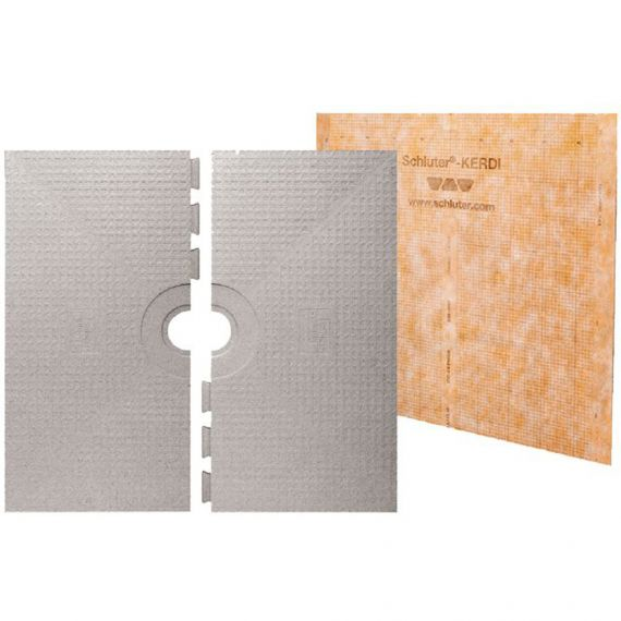 "Schluter KERDI-SHOWER-ST SHOWER TRAY 38"" X 38"""