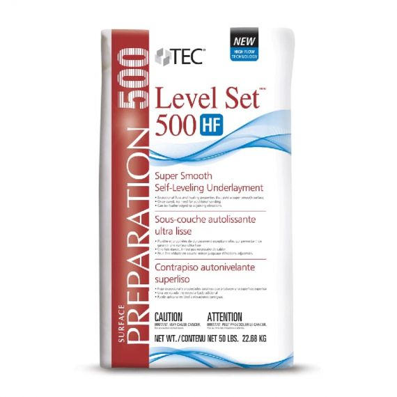 TEC Level Set 500 HF Self-Leveling Underlayment