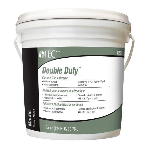 TEC® 1 gal. Double Duty™ Ceramic Tile Adhesive