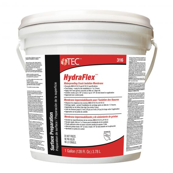 TEC® 1 gal. HydraFlex™ Waterproofing Crack Isolation Membrane