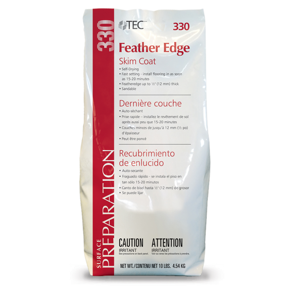 TEC® 10 lbs. Feather Edge Skim Coat