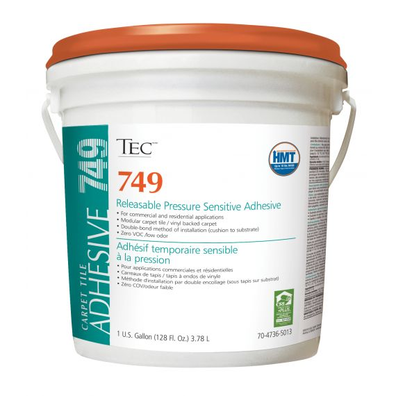 TEC® 749 Releasable Pressure Sensitive Adhesive 1 gal.